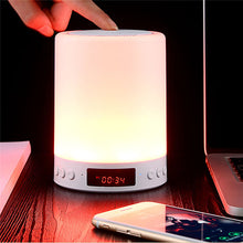 Load image into Gallery viewer, Music Alarm Clock LED Night Light / Smart Night Light / Baby & Kids' Night Lights Bluetooth / Color-Changing / Decoration Touch Dimmer USB 1pc