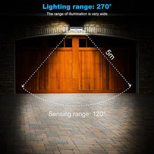 Load image into Gallery viewer, WAZA SOLAR LAMP 118 LED PIR MOTION SENSOR LAMP OUTDOORS IP65 WATERPROOF SOLAR GARDEN LIGHTS EMERGENCY SECURITY LIGHT SOLAR WALL LAMP