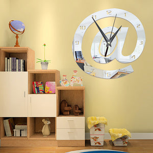 Wall ClockModern Contemporary Fashion Acrylic Irregular Indoor