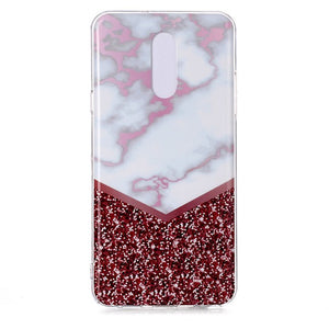 Case For LG LG Stylo 5 / LG K30 Ultra-thin / Pattern Back Cover Marble TPU