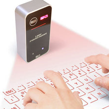 Load image into Gallery viewer, Laser Projection Keyboard Bluetooth Smart Home Entertainment Portable Leisure Projector