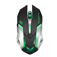 Load image into Gallery viewer, NEW X70 Wireless 2.4G Optical Gaming Mouse / Office Leisure Mobile Notebook Mouse/Ergonomic Mouse Led Breathing Light 2400 dpi 6 pcs Keys