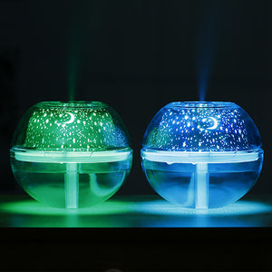 LED Night Light Cool Mist Humidifier with USB Port Quiet Operation long run time Decoration <5V 1pc