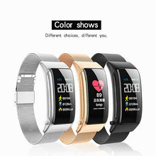 Load image into Gallery viewer, KUPENG A9 Smart Bracelet Smartwatch Android iOS Bluetooth Touch Screen Heart Rate Monitor Blood Pressure Measurement Sports Calories Burned Pedometer Call Reminder Activity Tracker Sleep Tracker