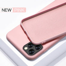 Load image into Gallery viewer, YISHANGOU Case For Apple iPhone 11 Pro Max SE 2 2020 6 S 7 8 Plus X XS MAX XR Cute Candy Color Couples Soft Silione Back Cover