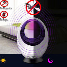 Load image into Gallery viewer, Low-voltage UV USB Photocatalyst Mosquito Killer Lamp Safe Energy Saving Electronical Bug Zapper Insect Killer Repellent Light