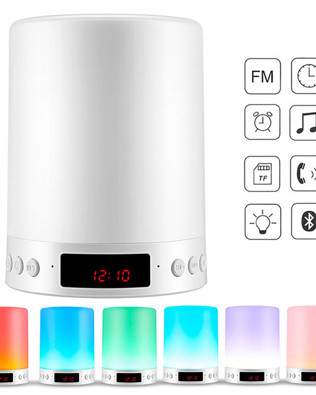 Music Alarm Clock LED Night Light / Smart Night Light / Baby & Kids' Night Lights Bluetooth / Color-Changing / Decoration Touch Dimmer USB 1pc