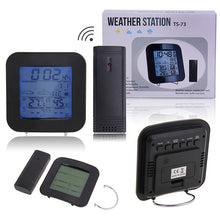 Load image into Gallery viewer, TS-73 Wireless barometer indoor and outdoor thermometer and hygrometer clock thermometer and hygrometer