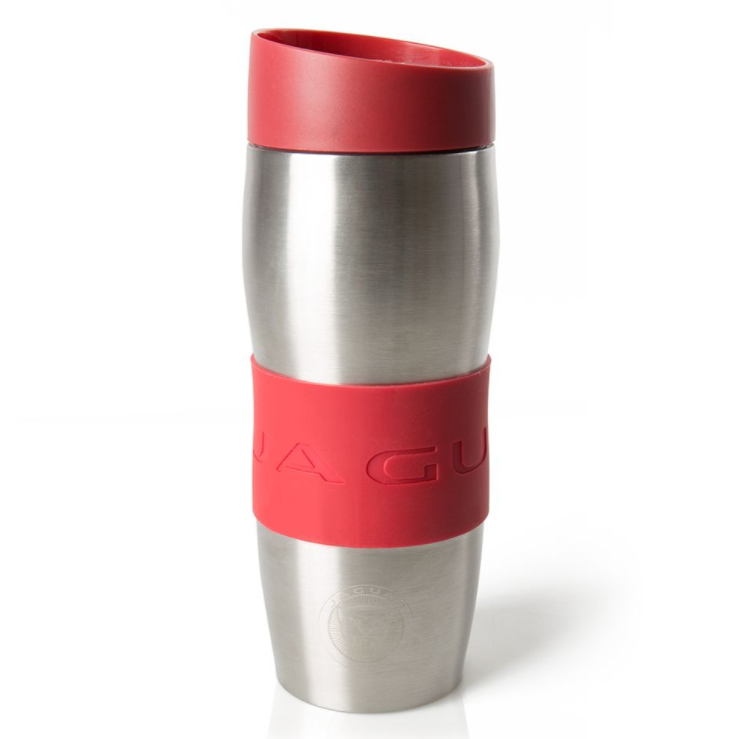 Jaguar Travel mug Stainless Steel - Red