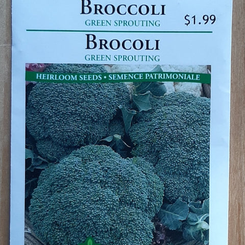 Broccoli Seeds -Green Sprouting