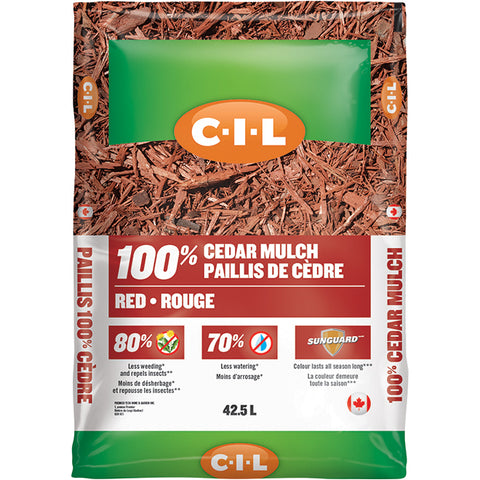 C-I-L 100% Red Cedar Mulch 42.5L