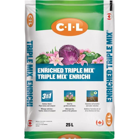 C-I-L Enriched Triple Mix 25L bag