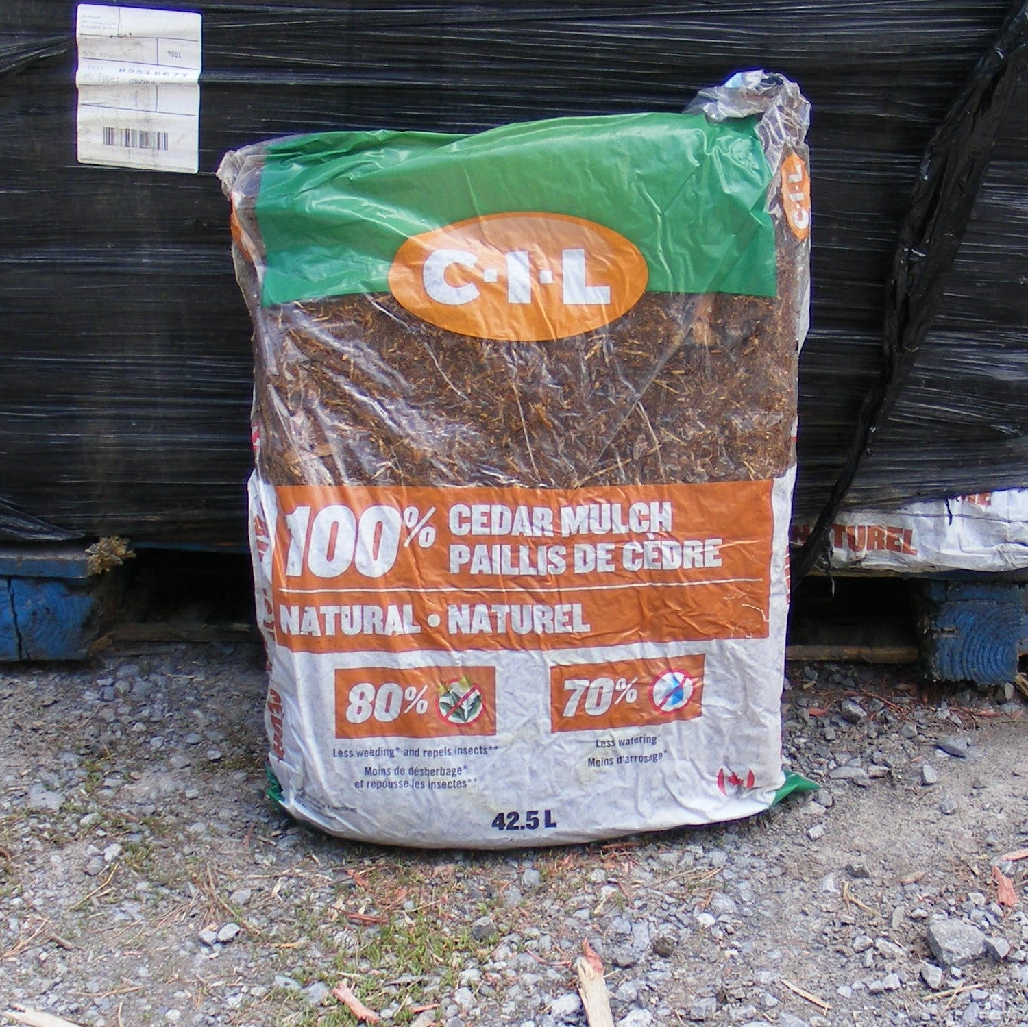 CIL 100% Natural Cedar Mulch 42.5L