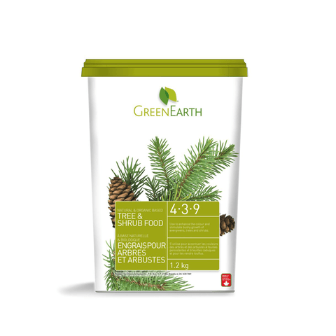 Green Earth Tree & Shrub Food 4-3-9