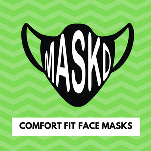 Comfort Fit Face Masks (25 pack / choice of colours)
