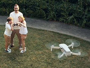 Featherweight folding drone