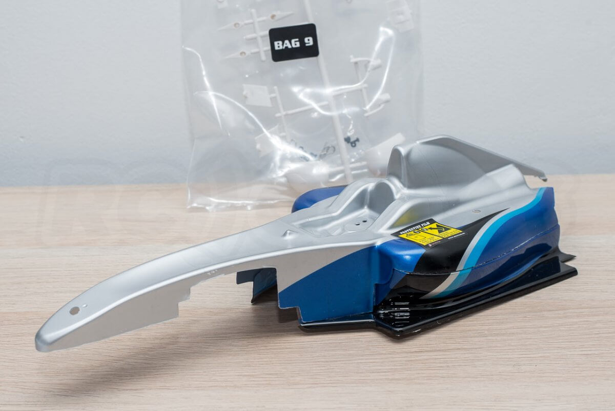 3Racing Sakura FGX2018 F1 Car kit 14 body assembly components
