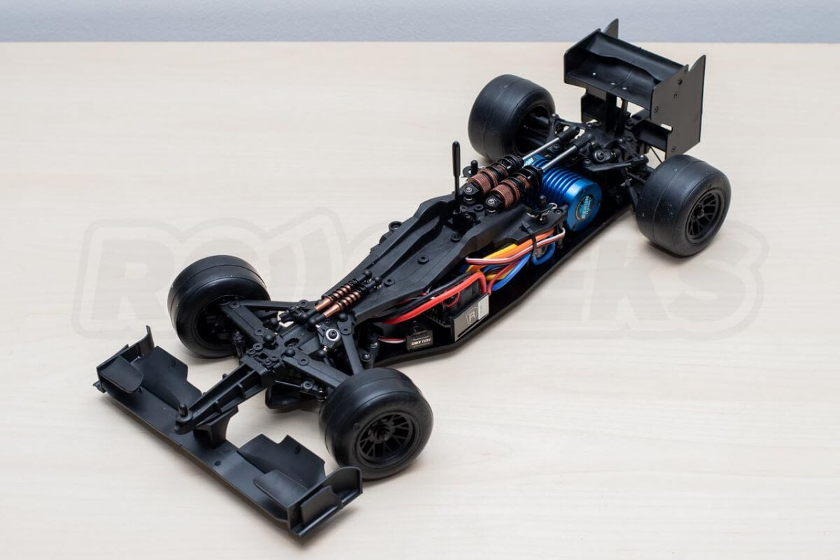 3Racing Sakura FGX2018 F1 Car kit completed chassis left