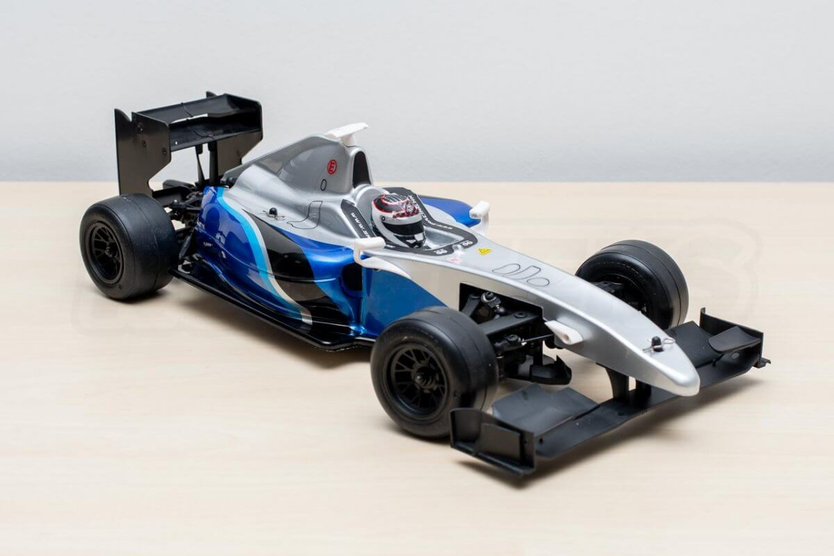 3Racing Sakura FGX2018 F1 Car kit completed right naked