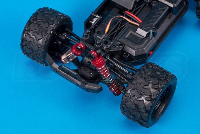 Absima Hurricane Thunder 18th scale rc chassis front suspension