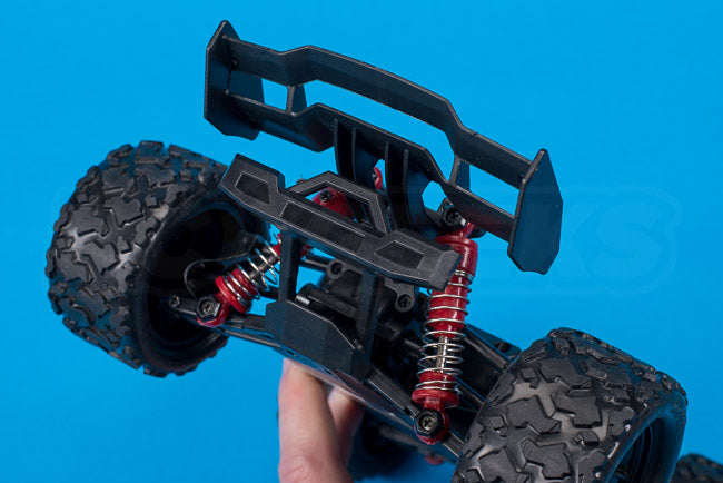 Absima Hurricane Thunder 18th scale rc chassis rear bumper
