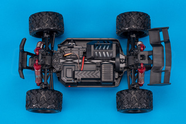 Absima Hurricane Thunder 18th scale rc chassis top