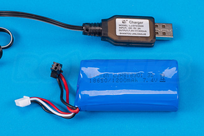 Absima Hurricane Thunder 18th scale review battery 1200mAh