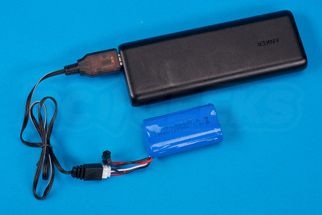 Absima Hurricane Thunder 18th scale review battery 1200mAh charging USB