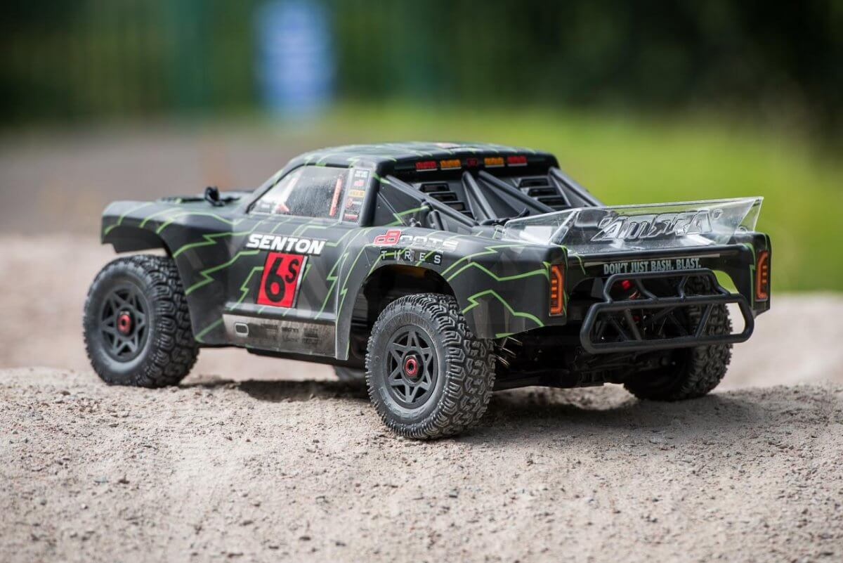 Arrma Senton 6S review clean rear