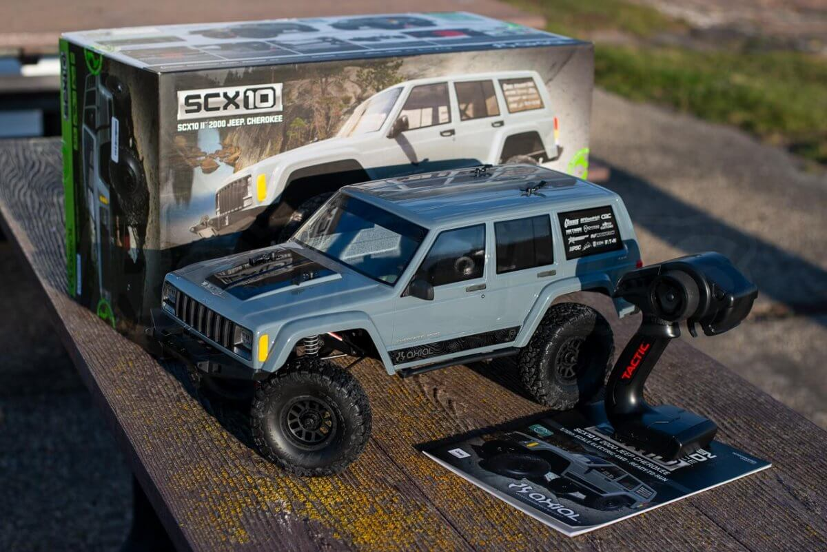 Axial SCX10 II Review Unboxing