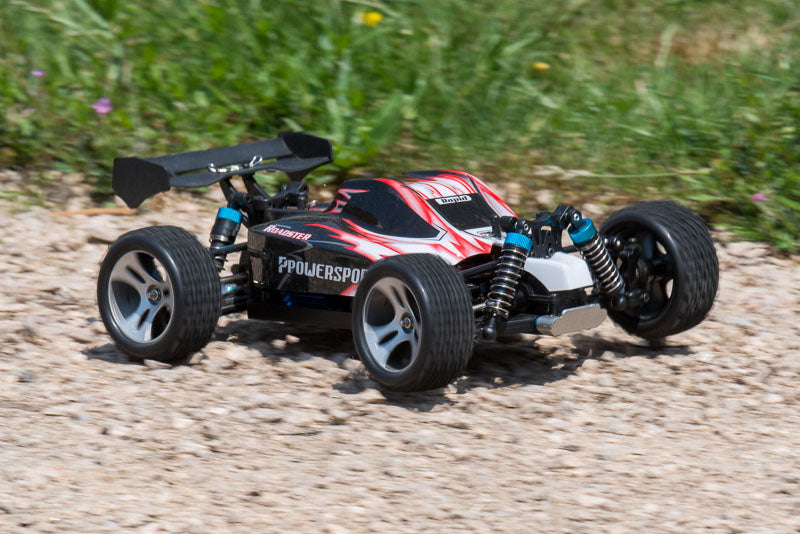 rc buggy turning