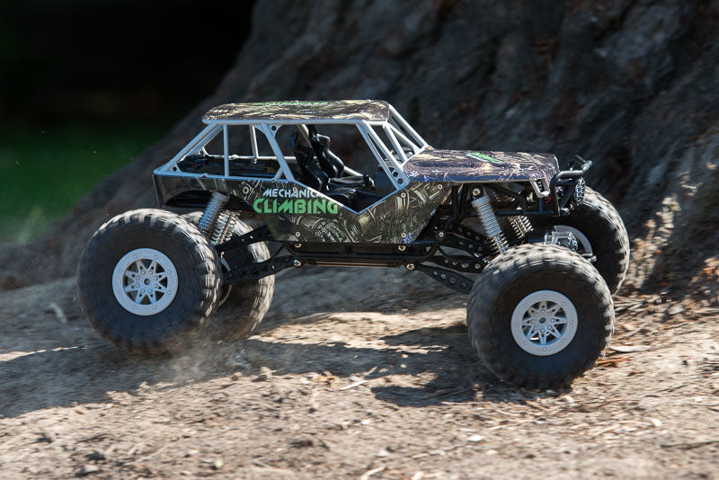 RC crawler with tyres on