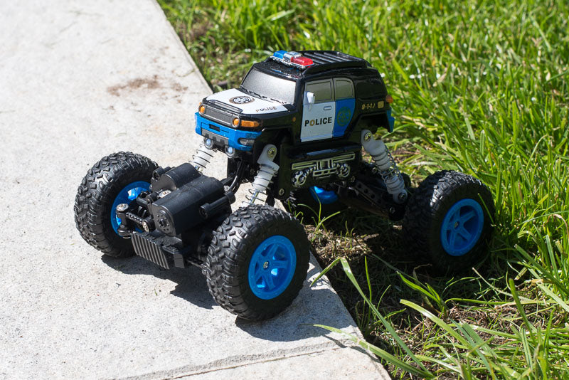 police styled rc car