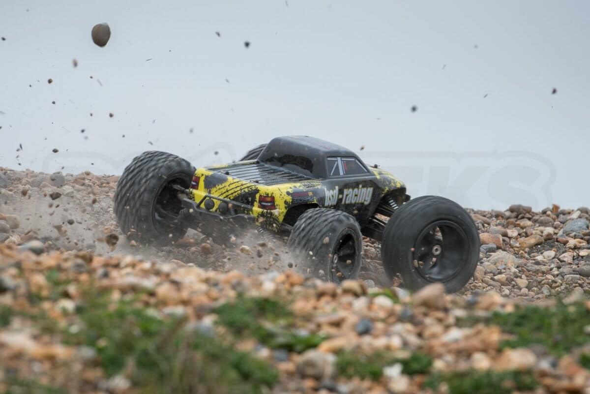 BSD Racing Flux Marauder Review stones throwing hard