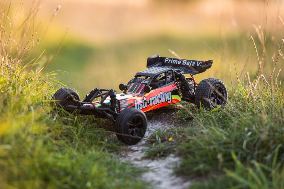 BSD Racing Prime Baja V3 Brushed Buggy black orange backlit
