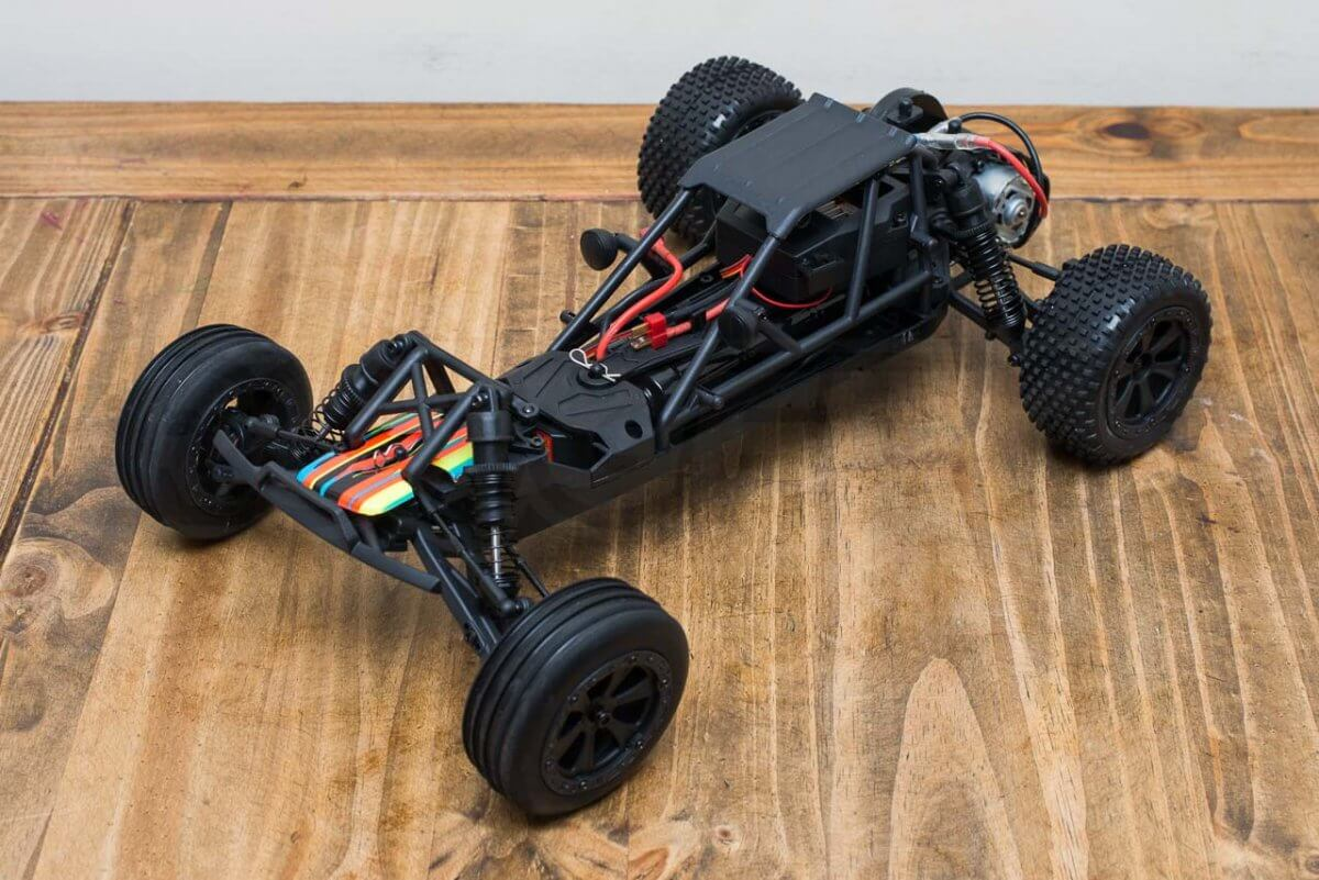 BSD Racing Prime Baja V3 Brushed Buggy review naked