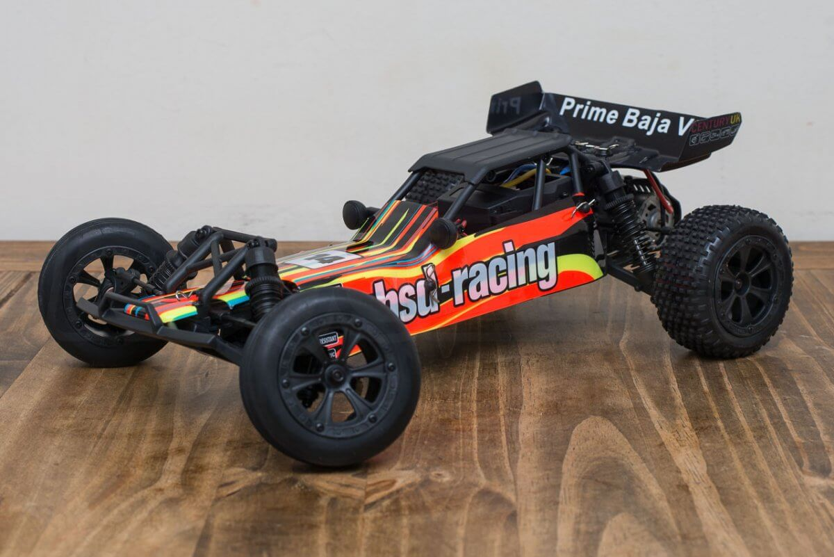 BSD Racing Prime Baja V3 Brushed Buggy review orange and black