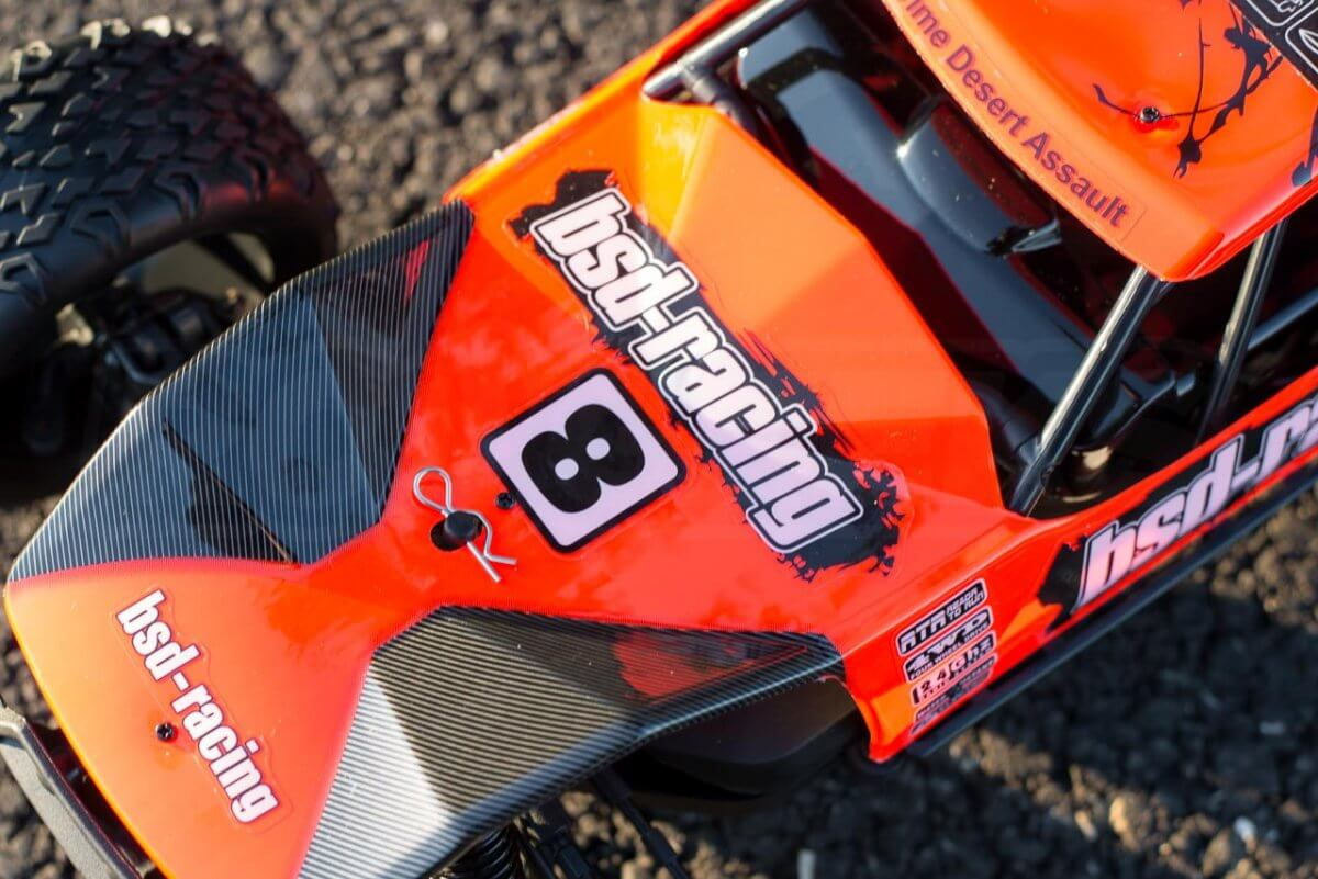 BSD Racing Prime Desert Assault review body stickers