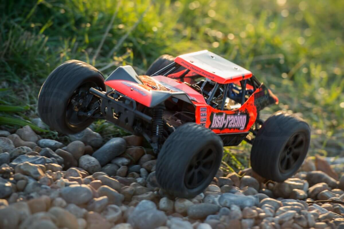 BSD Racing Prime Desert Assault review hopping stones