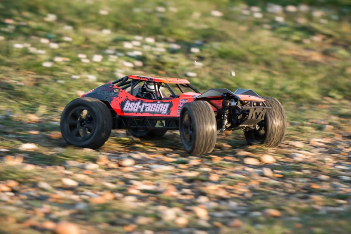 BSD Racing Prime Desert Assault review off road ability