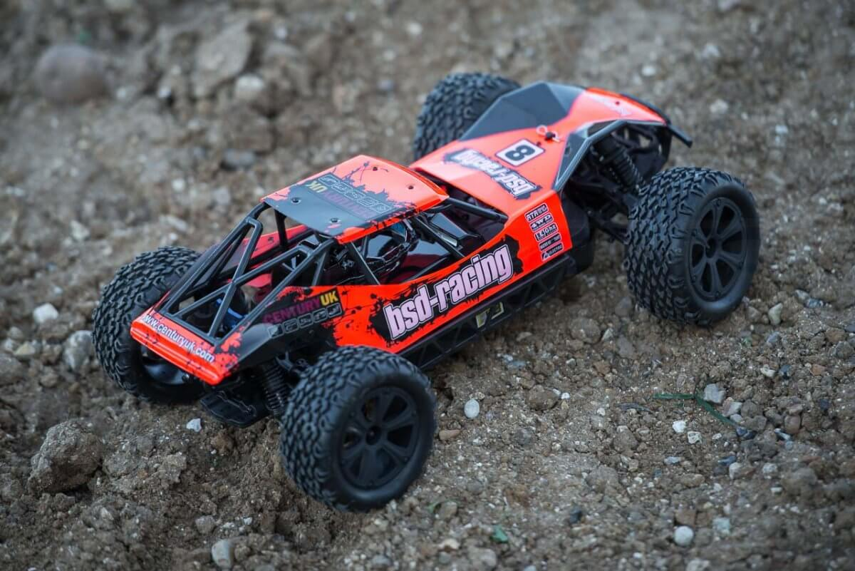BSD Racing Prime Desert Assault review on dirt