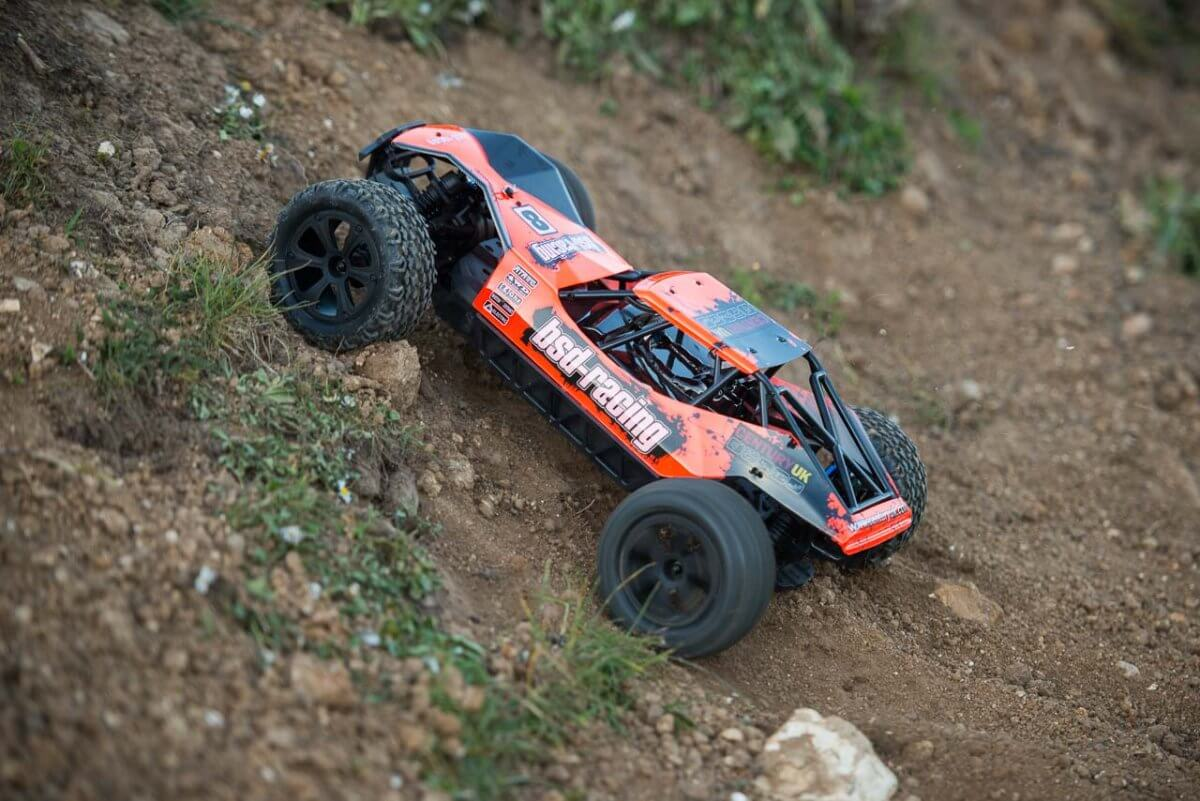 BSD Racing Prime Desert Assault review open diffs