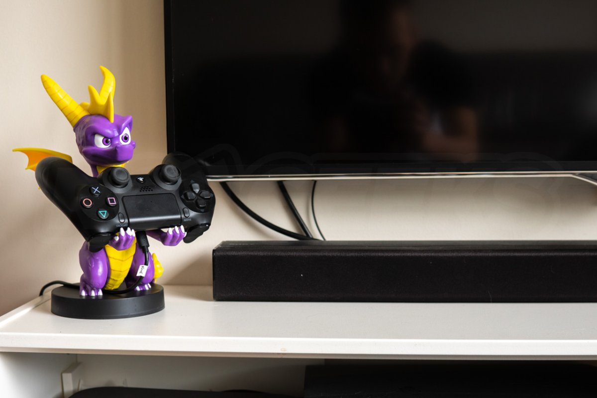 Cable Guys Spyro Holding Games Controller