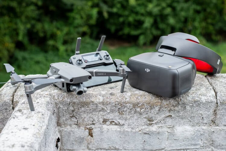 DJI Mavic 2 with DJI Goggles