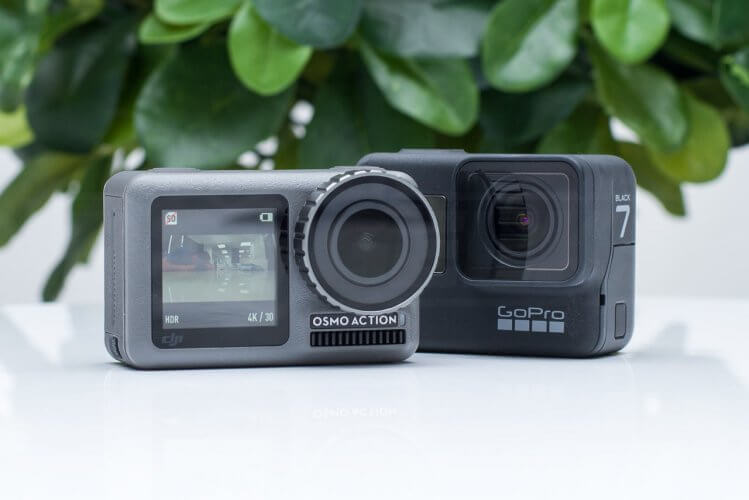 DJI Osmo Action release GoPro Hero 7 Comparison head to head