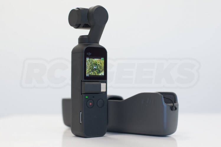 DJI Osmo Pocket unboxed on