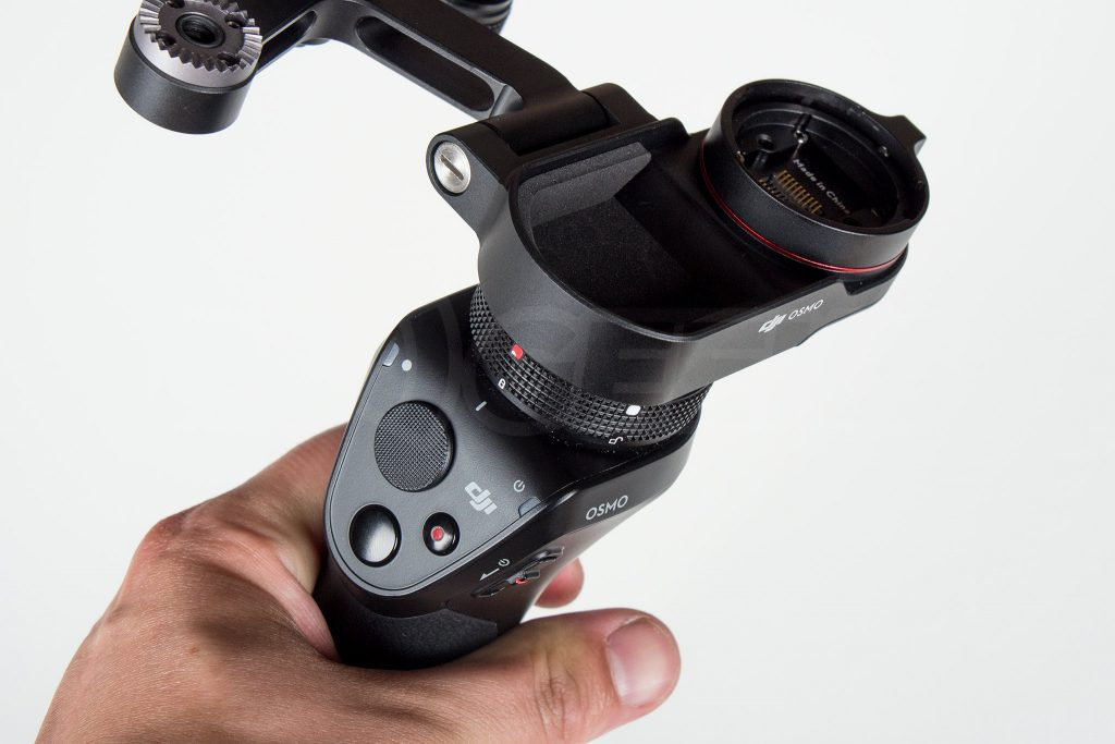 Official DJI Osmo X5 Adapter installed