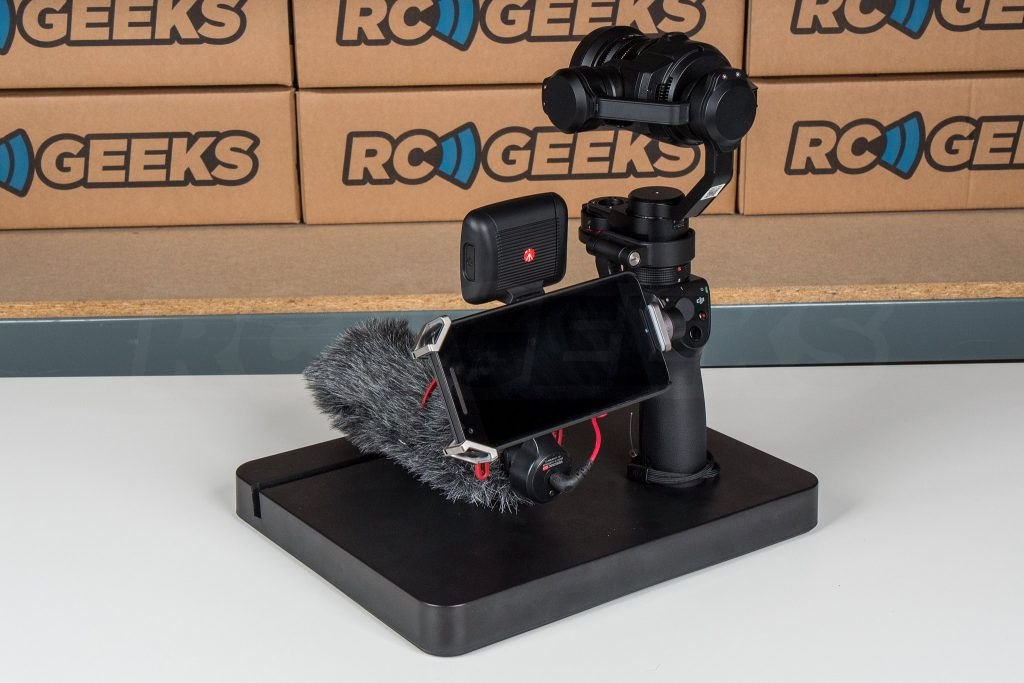 Official DJI Osmo X5 Adapter rigged rear