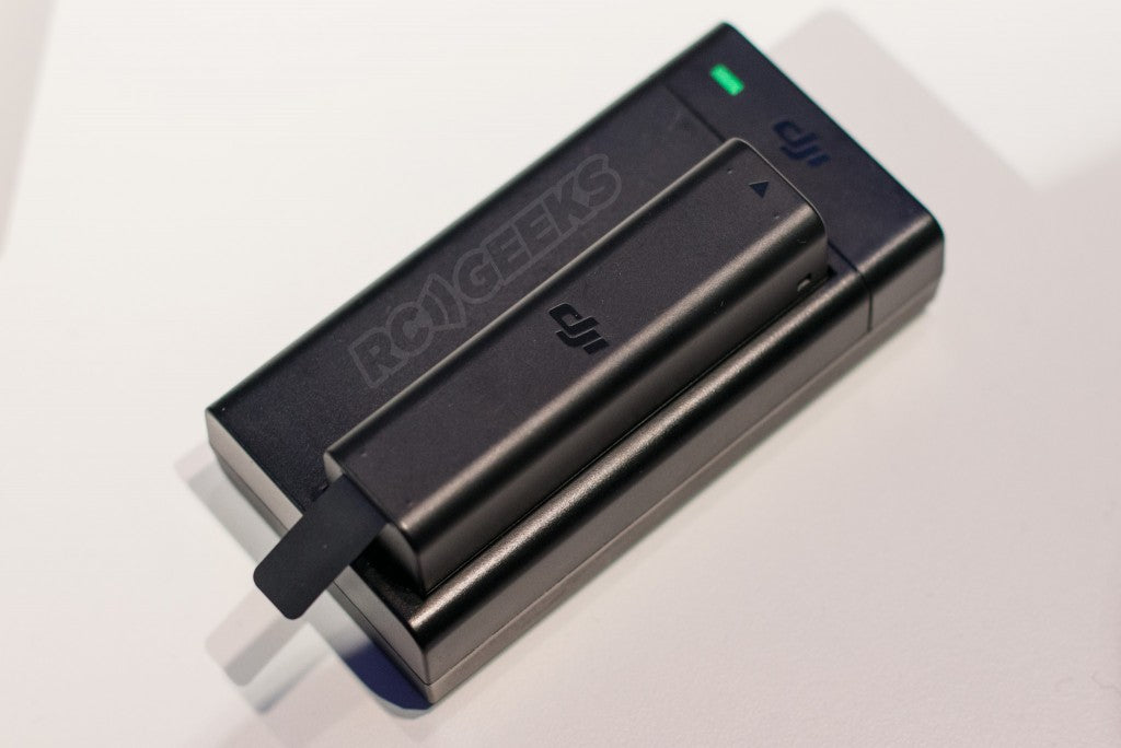 Osmo battery check
