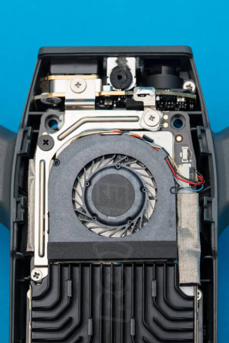 DJI Spark Teardown cooling fan
